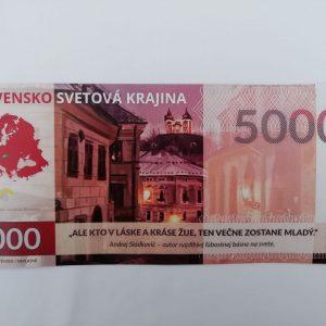 Pamätná slovakovka - Slovenské svetové Mesto lásky - Banská Štiavnica 1/10
