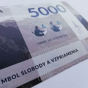 Pamätná slovakovka – Vystri sa!® – Slovenský unikátny výrobok