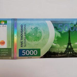 Pamätná slovakovka - World capital cities - Paris (France) 2/200