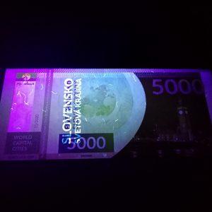 Pamätná bankovka - World capital cities - London (England) 3/200